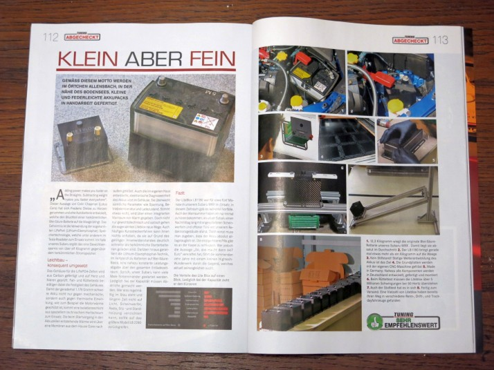 Produkttest Tuning Magazin