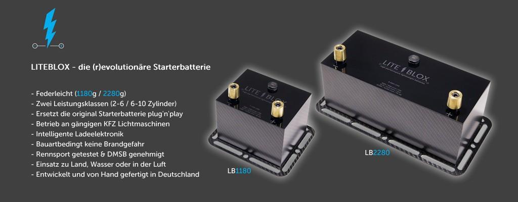 LITEBLOX high performance batteries