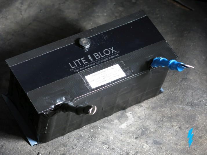 battery prototype LFP LiFePO4 lithium 12V