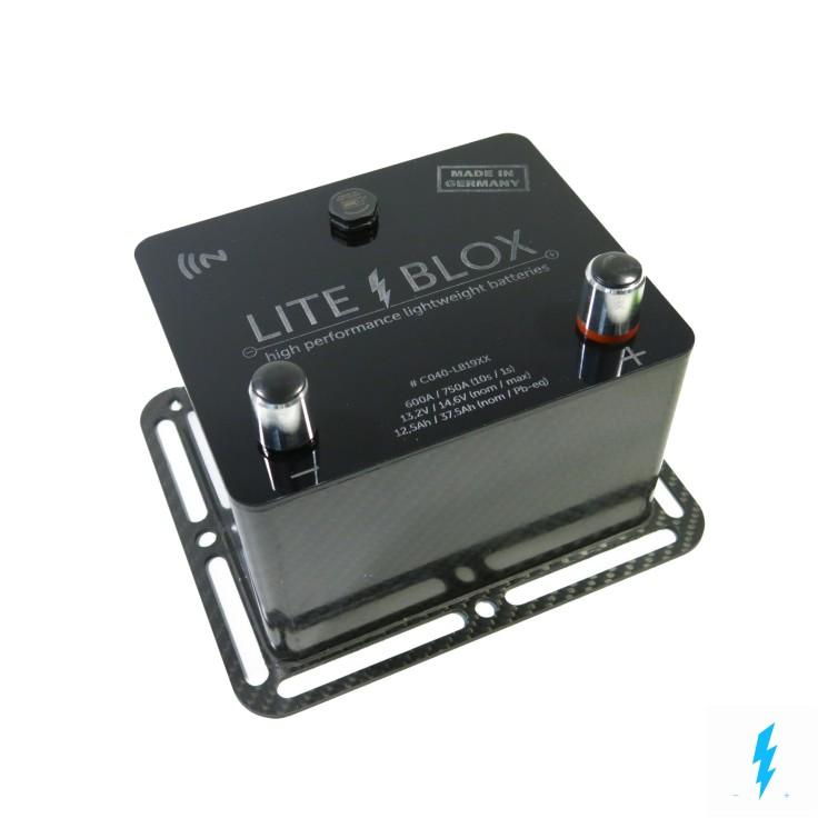LITEBLOX LiFePO4 lightweight light battery GEN3