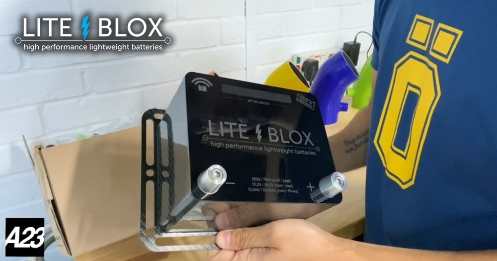 LITE↯BLOX lithium battery review – video by Alias23