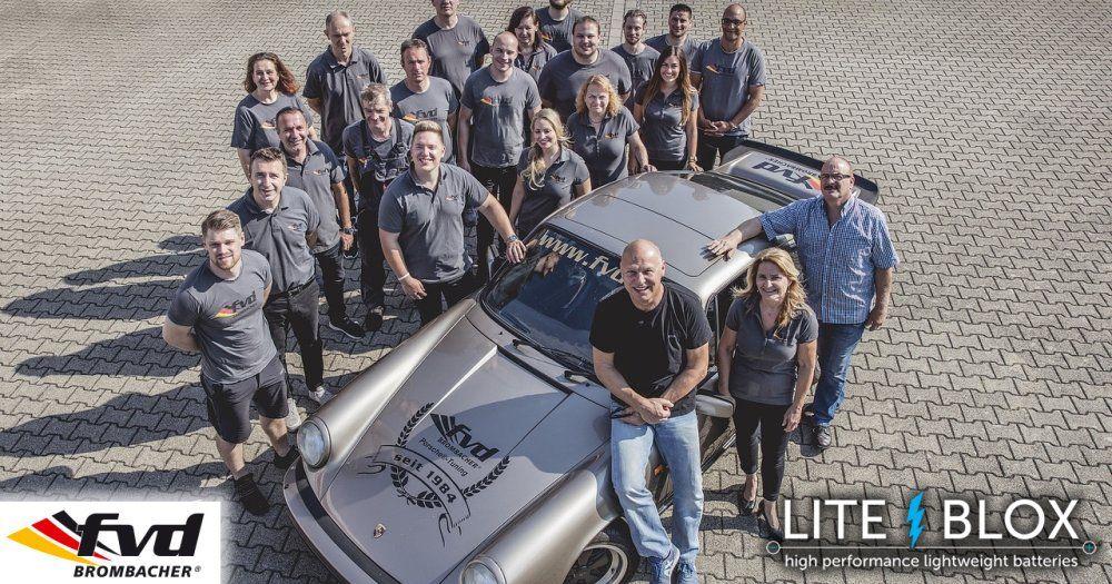 with fvd BROMBACHER at the Porsche meeting Dinslaken